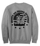 Boots on the Home Ground Crew Neck Sweatshirt