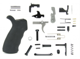 AR15 Lower Parts Kit w/Black Rubberized Grip