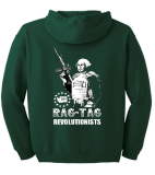 WA3% Zip Up Hoodie - Rag Tag Revolutionists