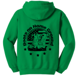 Boots on the Home Ground Hoodie