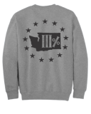 WA3% 4 Pillars Crew Neck Sweatshirt