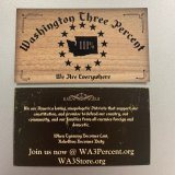 WA3 Business Cards (50)