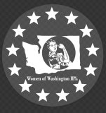"Women of WA3% - 5"" Sticker"