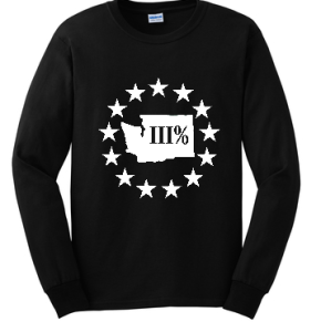 WA3% Long Sleeve T-Shirt - Rag Tag Revolutionists